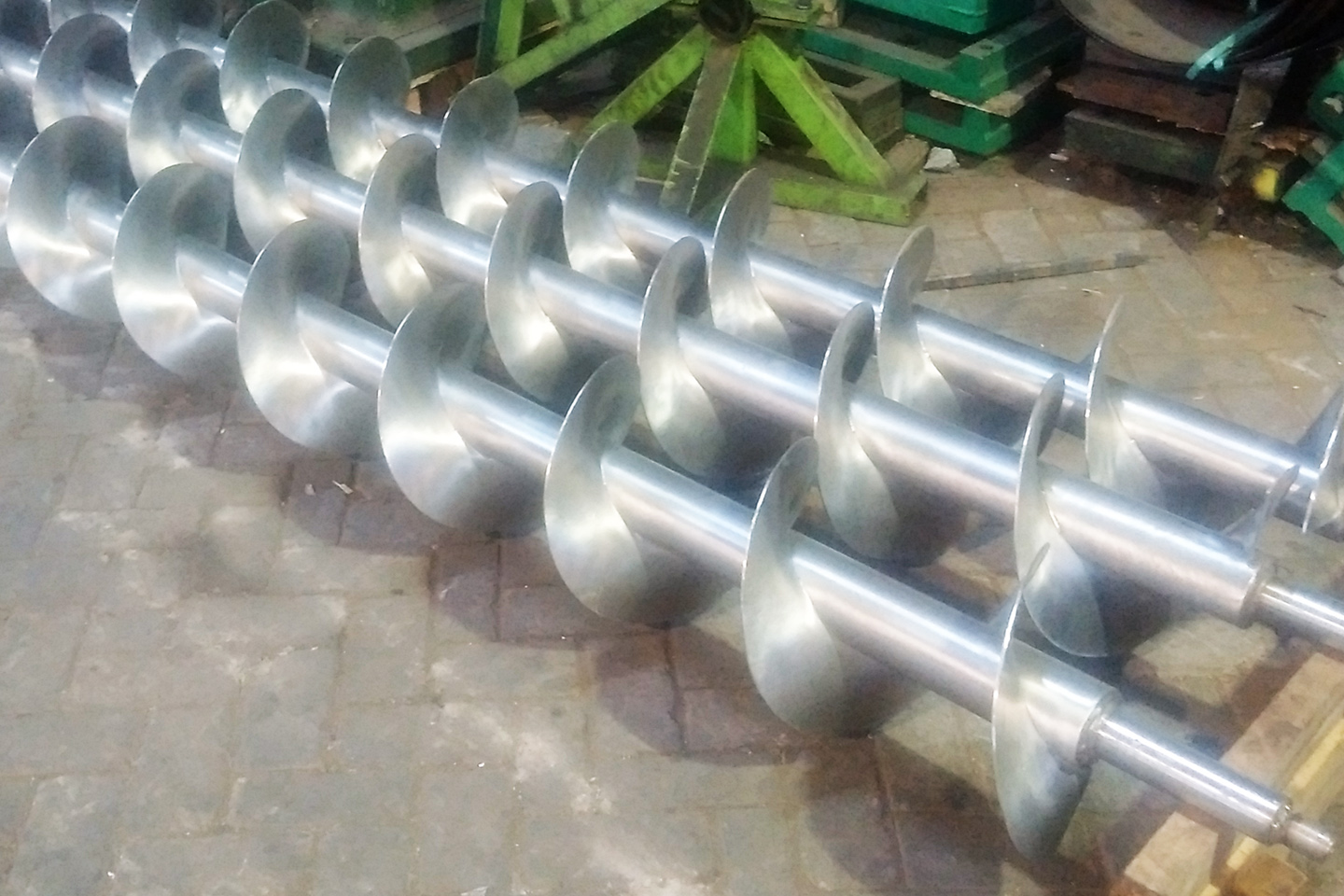 Special parts for a food processing company